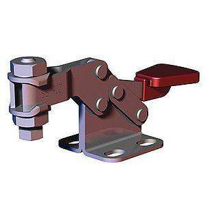 DESTACO 206-HSS HORIZONTAL HOLD-DOWN TOGGLE LOCKING CLAMP HIGH-BAR FLANGED-BASE