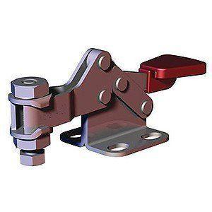 DESTACO 206-SS HORIZONTAL HOLD-DOWN TOGGLE LOCKING CLAMP LOW-BAR FLANGED-BASE